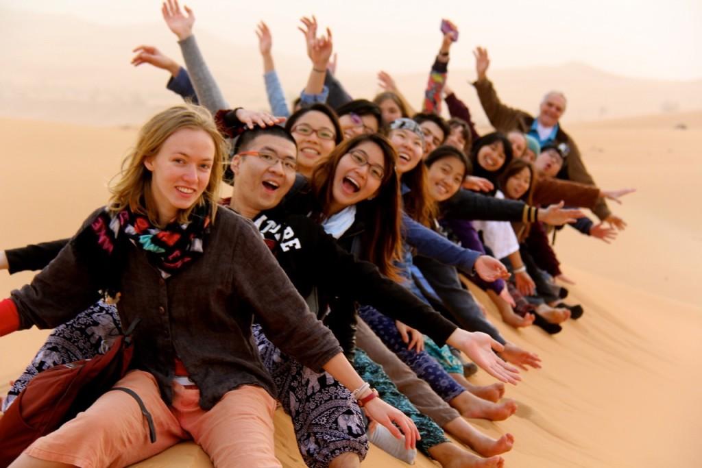 Yale-NUS Students on the UAE LAB