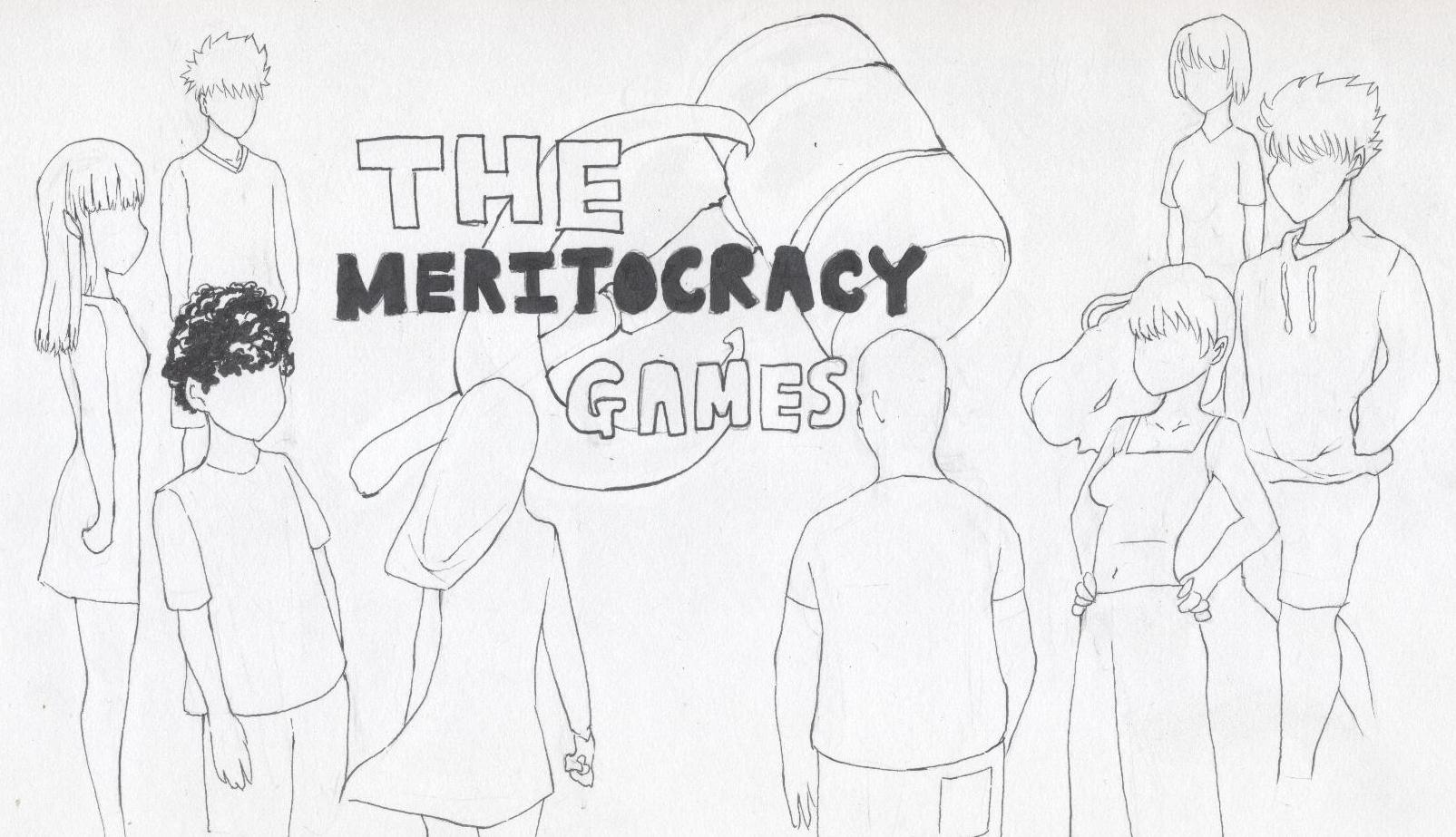 Meritocracy - Illustration by Roger Ko