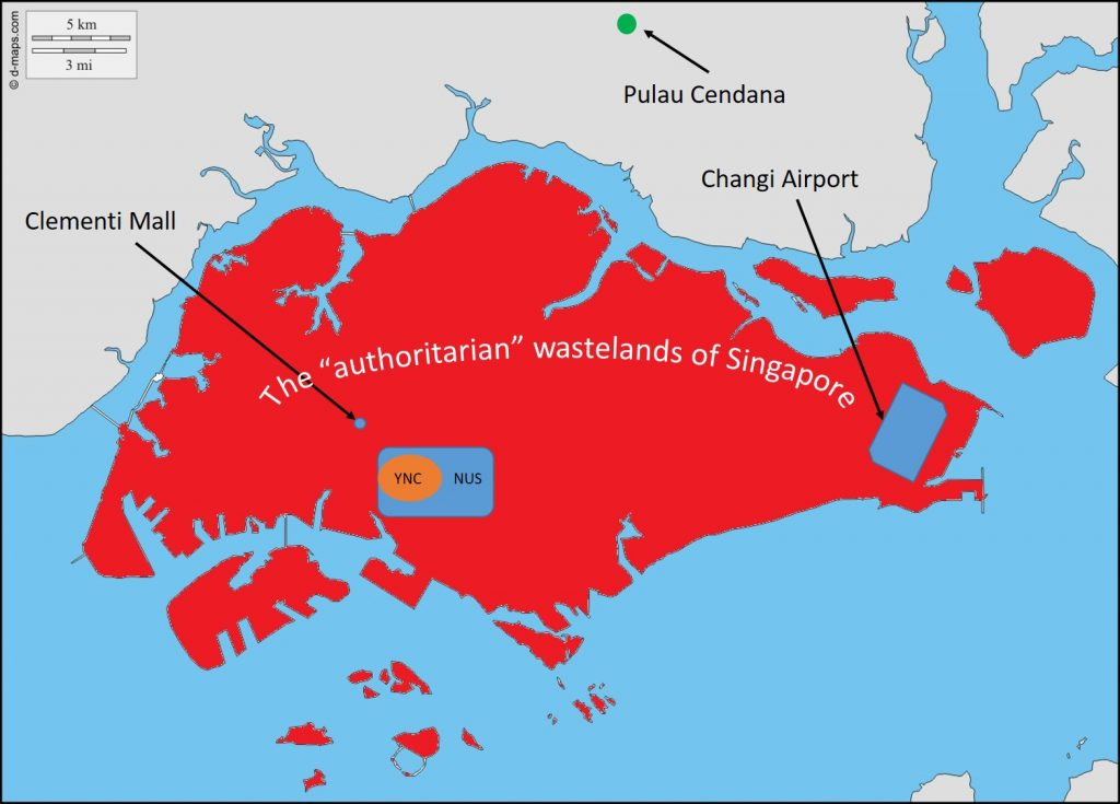 Disclaimer: is is not an accurate map