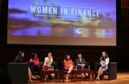Female business leaders speak at Yale-NUS's Women in Finance Conference