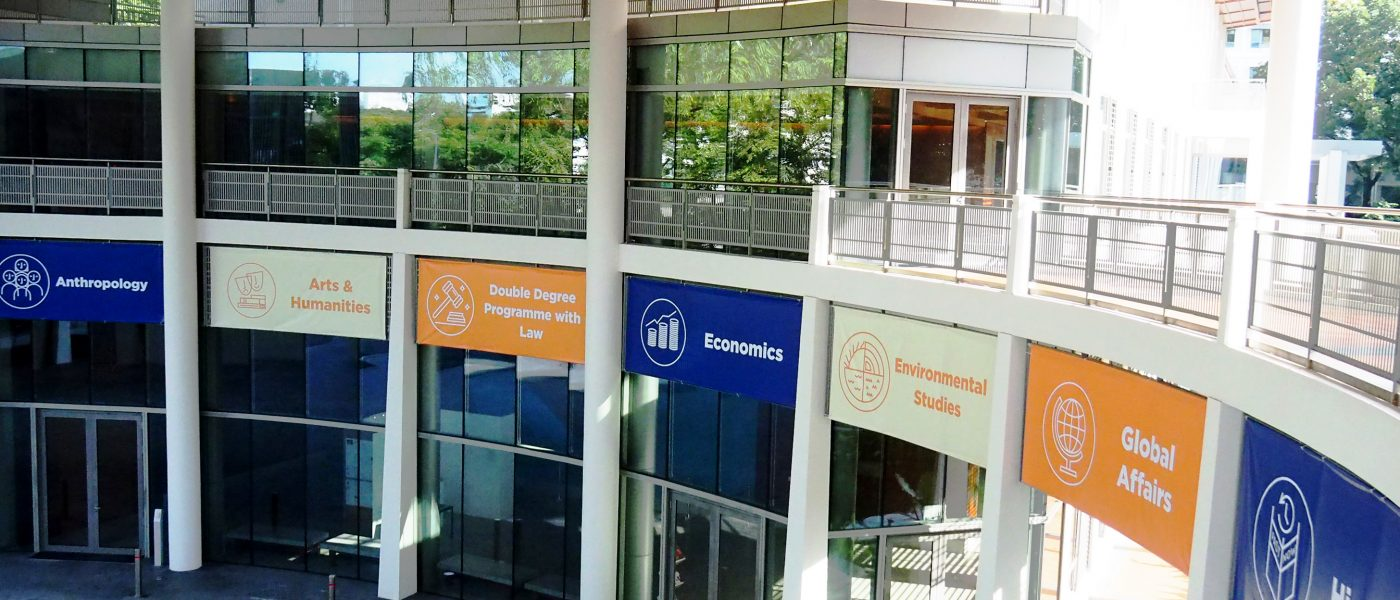 Yale-NUS College offers 14 different majors.