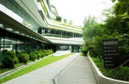 SUTD's modern campus