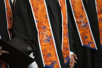 A photo from Yale-NUS College's inaugural graduation.